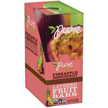 Pure® Organic Pineapple Passionfruit Layered Fruit Bars 20-0.63 oz. Bars
