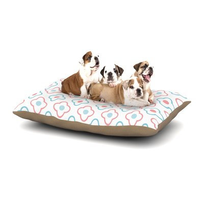 East Urban Home KESS Original 'Baby Moroccan' Dog Pillow with Fleece Cozy Top Size: Large (50