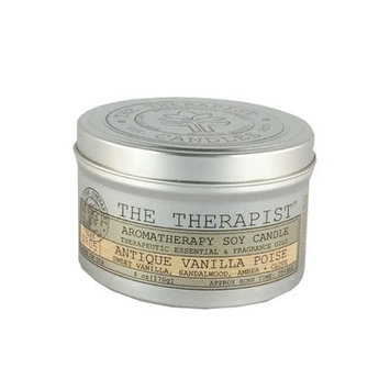 The Therapist Candles No. 05 Antique Vanilla Poise Soy Scent Jar Candle
