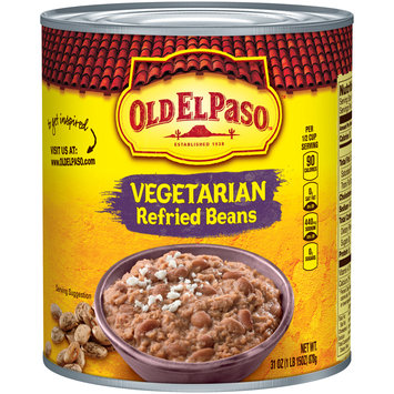 Old El Paso™ Vegetarian Refried Beans 31 oz. Can