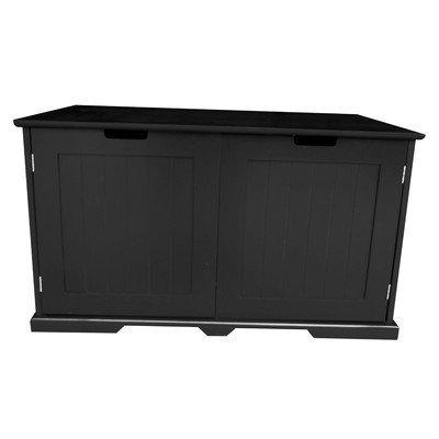 Pethuphup Cat Sounana Litter Box Color: Black