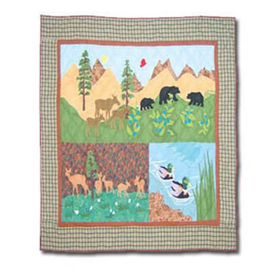 Loon Peak Aubry Cotton Crib Quilt