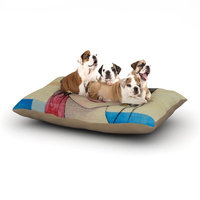 East Urban Home Brittany Guarino 'Face' Dog Pillow with Fleece Cozy Top Size: Small (40