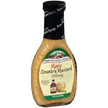 Maple Grove Farms of Vermont® Maple Country Mustard Dressing 8 fl. oz. Bottle