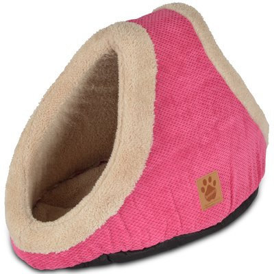 Precision Pet Products Precision Pet SnooZZy Mod Chic Double Hide and Seek Bed - Fuchsia: Bed