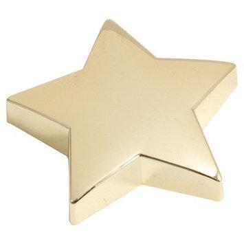 Bey-berk Star Paper Weight, Gold Plated, D556