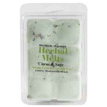 Swan Creek Candle Co. Drizzle Melts Scented Melting Wax - Citrus Sage