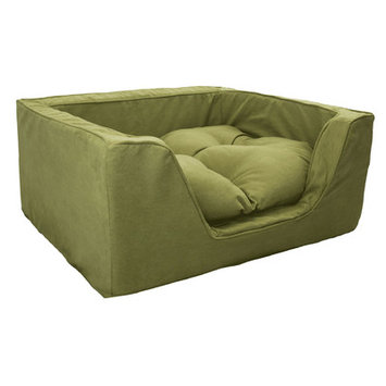 O'donnell Industries ODonnell Industries 21355 Large Luxury Square Pet Bed Mossy MapleOlive