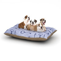 East Urban Home Marianna Tankelevich 'Secret Keys' Dog Pillow with Fleece Cozy Top Size: Small (40