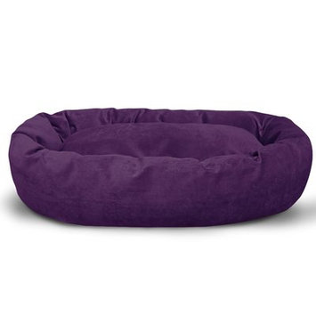 Majestic Pet Products, Inc. Suede Bagel Bolster Dog Bed Size: Medium (32