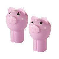 Hutzler PigOut Cupholder to Go Bowl Color: Pink