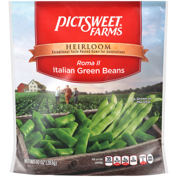 Pictsweet Farms® Heirloom Roma II Italian Green Beans 10 oz. Bag