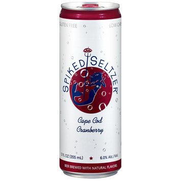 SpikedSeltzer® Cape Cod Cranberry Beer 12 fl. oz. Can