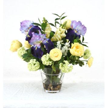 Distinctive Designs Waterlook Glass Flower Pot Vase