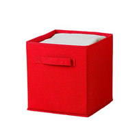 Ggi International Collapsible Storage Cube Color: Red