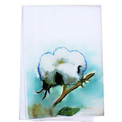 Betsy Drake Interiors Cotton Ball Hand Towel