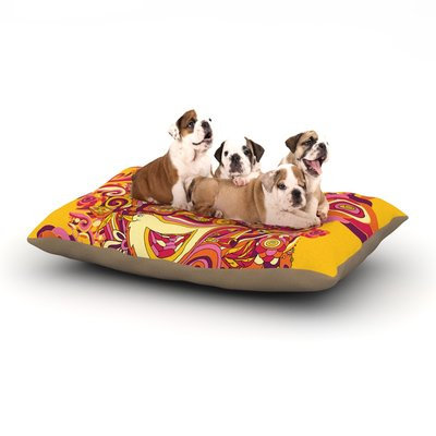 East Urban Home Alisa Drukman 'Utopia' Dog Pillow with Fleece Cozy Top Size: Small (40