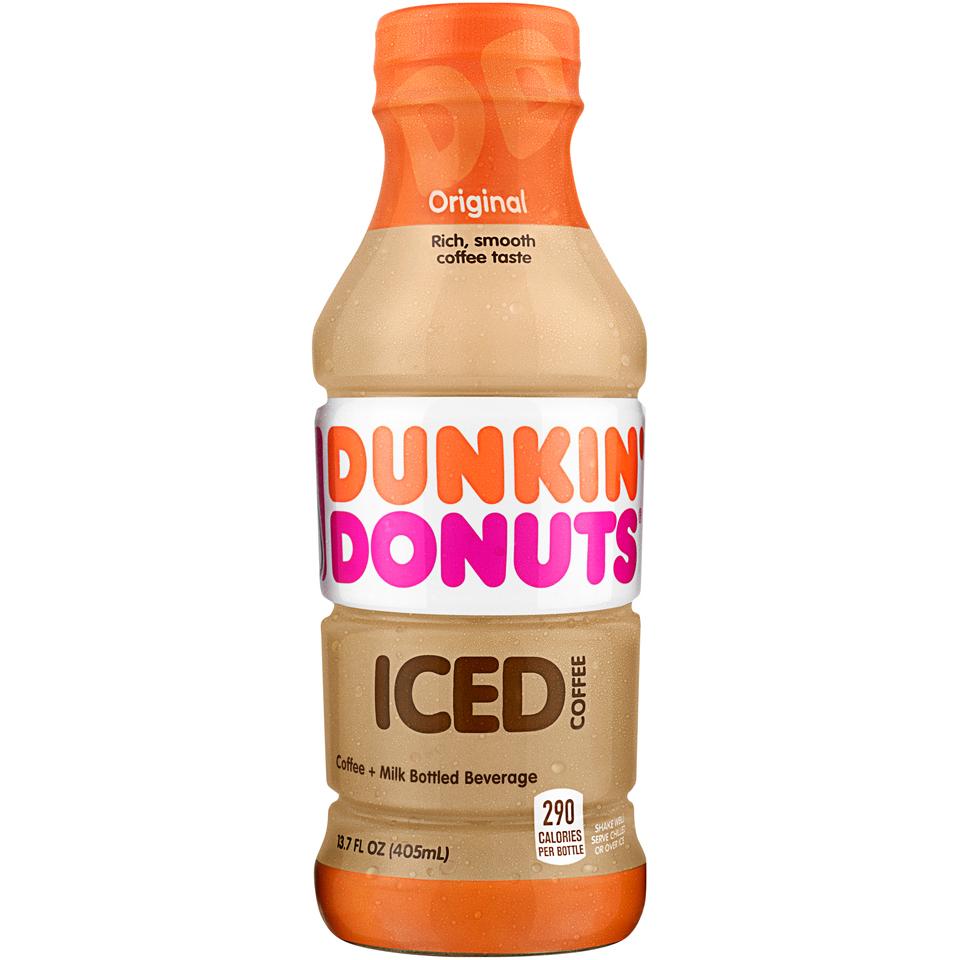 Dunkin' Donuts® Original Iced Coffee 13.7 fl. oz. Plastic Bottle