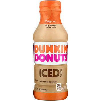 Dunkin' Donuts® Original Iced Coffee 13.7 fl. oz. Plastic Bottle
