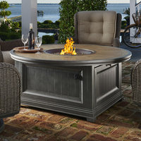 Sunvilla Dogwood CF-20 Burner Stainless Steel Natural Gas Fire Pit Table