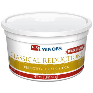 MINOR'S Classical Reductions Reduced Chicken Stock 3 lb. Tub