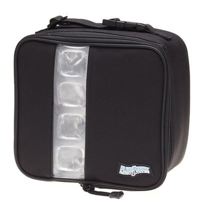 Maranda Enterprises FlexiFreeze Freezable Lunch Box Cooler Color: Black