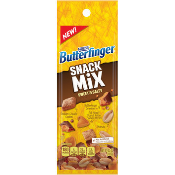 BUTTERFINGER Sweet & Salty Snack Mix 2.5 oz. Bag