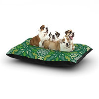 East Urban Home Miranda Mol 'Yulenique' Dog Pillow with Fleece Cozy Top Size: Small (40