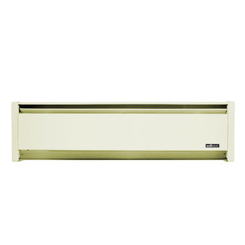 Cadet 1000W Softheat hydronic baseboard heater - White Sand RH Wire