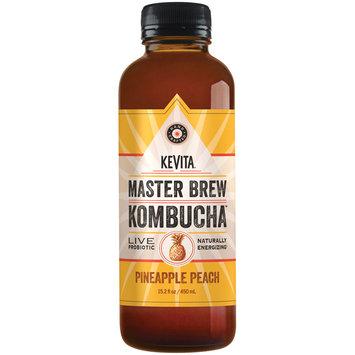 Kevita® Master Brew Kombucha™ Pineapple Peach Live Probiotic Drink 15.2 fl. oz. Bottle