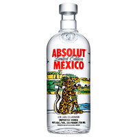 Absolut Vodka Sweden Limited Edition Mexico 750ml Bottle