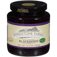 WindStone Farms All Natural Blackberry Jam with Seeds 13.5 oz. Jar