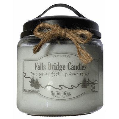 Fallsbridgecandles Strawberries and Cream Jar Candle Size: 5.25