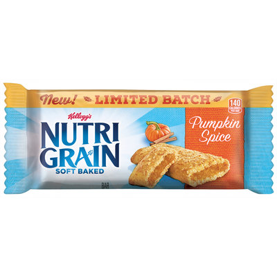 Kellogg's® Nutri Grain® Pumpkin Spice Soft Baked Fruit Bar