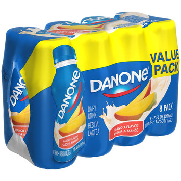 Dannon® Danone® Dairy Drink Mango Flavor 7 fl. oz. 8 pack