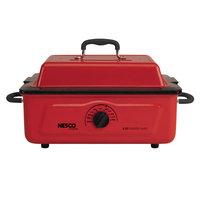 Nesco 5 Qt. 600 Wt. Roaster Porcelain Cookwell, Red