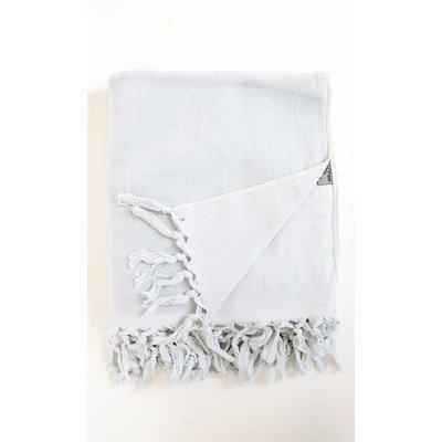 Darby Home Co Hudgens Bath Sheet Color: Pearl Gray