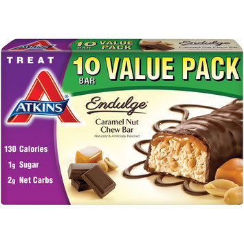 Atkins® Endulge® Caramel Nut Chew Bar 10-1.2 oz. Box
