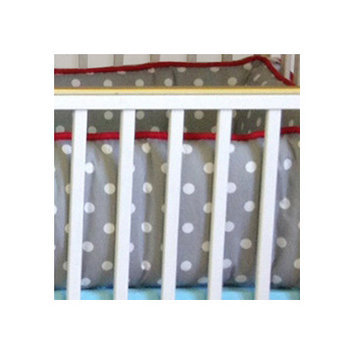 Bebe Chic Calypso 4 Piece Crib Bedding Collection-Calypso Dottie Yardage Fabric