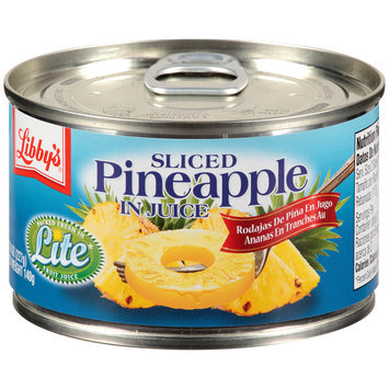Libby's® Sliced Pineapple in Juice 8 oz. Pull-Top Can
