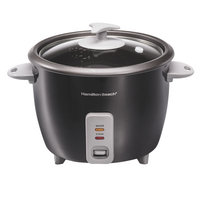Hamilton Beach 4 Piece 16 Cup Rice Cooker and Steamer