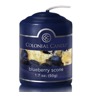 Colonial Candle Blueberry Scone Scent Votive