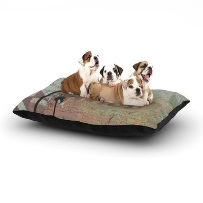 East Urban Home KESS Original 'Wish' Dog Pillow with Fleece Cozy Top Size: Small (40