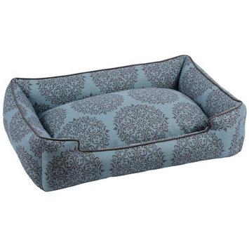 Jax & Bones Premium Cotton Lounge Pet Bed Milan Teal, Size: X-Large