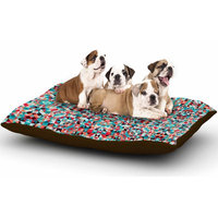 East Urban Home Allison Soupcoff 'Tart' Digital Dog Pillow with Fleece Cozy Top Size: Small (40