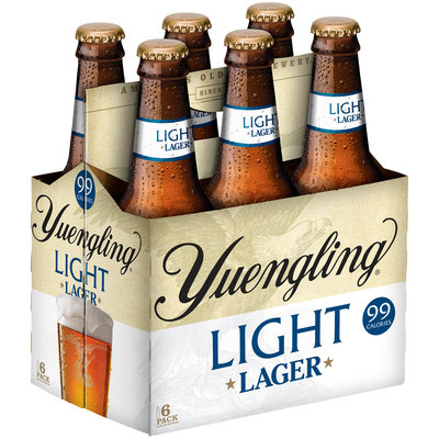 Yuengling® Light Lager 6-12 fl. oz. Bottles