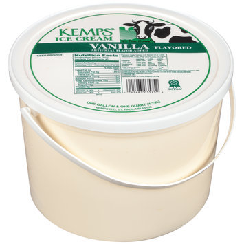 Kemps® Vanilla Flavored Ice Cream 1.2 gal. Pail
