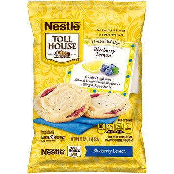 Nestlé® Toll House® Blueberry Lemon Cookie Dough