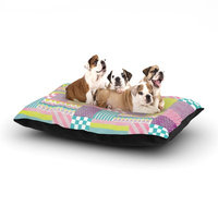 East Urban Home Louise Machado 'Patchwork' Dog Pillow with Fleece Cozy Top Size: Small (40