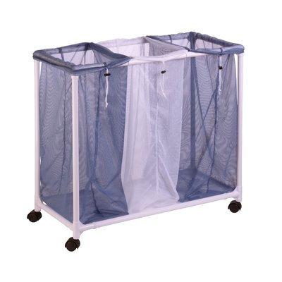 Rebrilliant 3 Bag Rolling Laundry Sorter